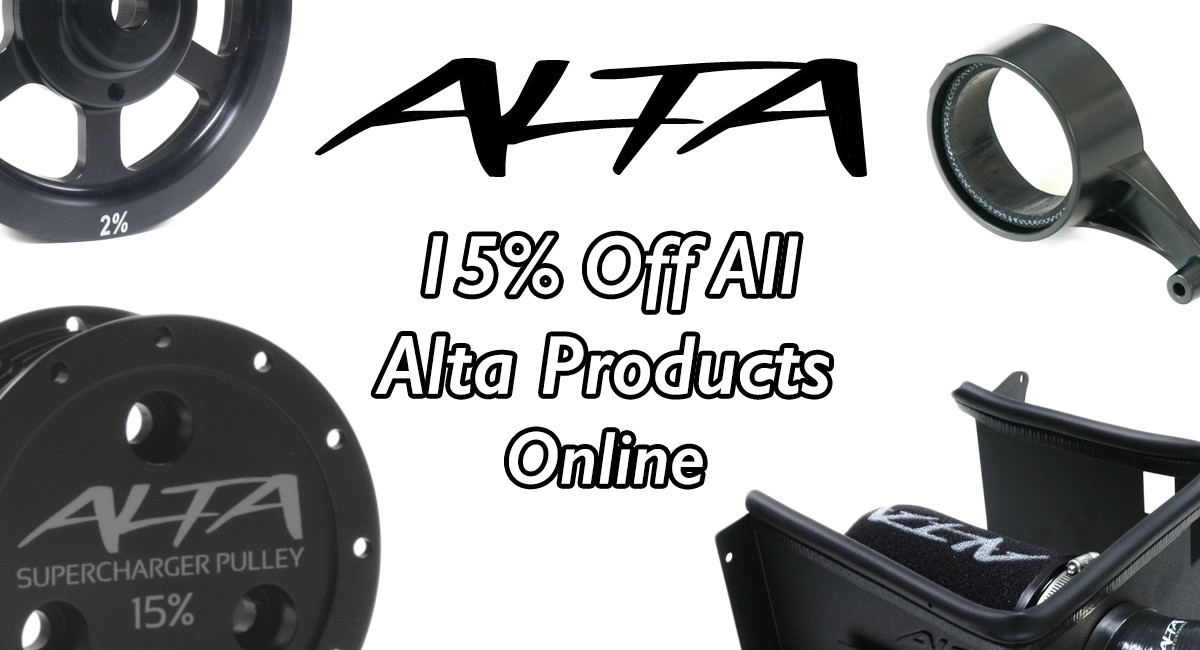 May - 15% off Alta