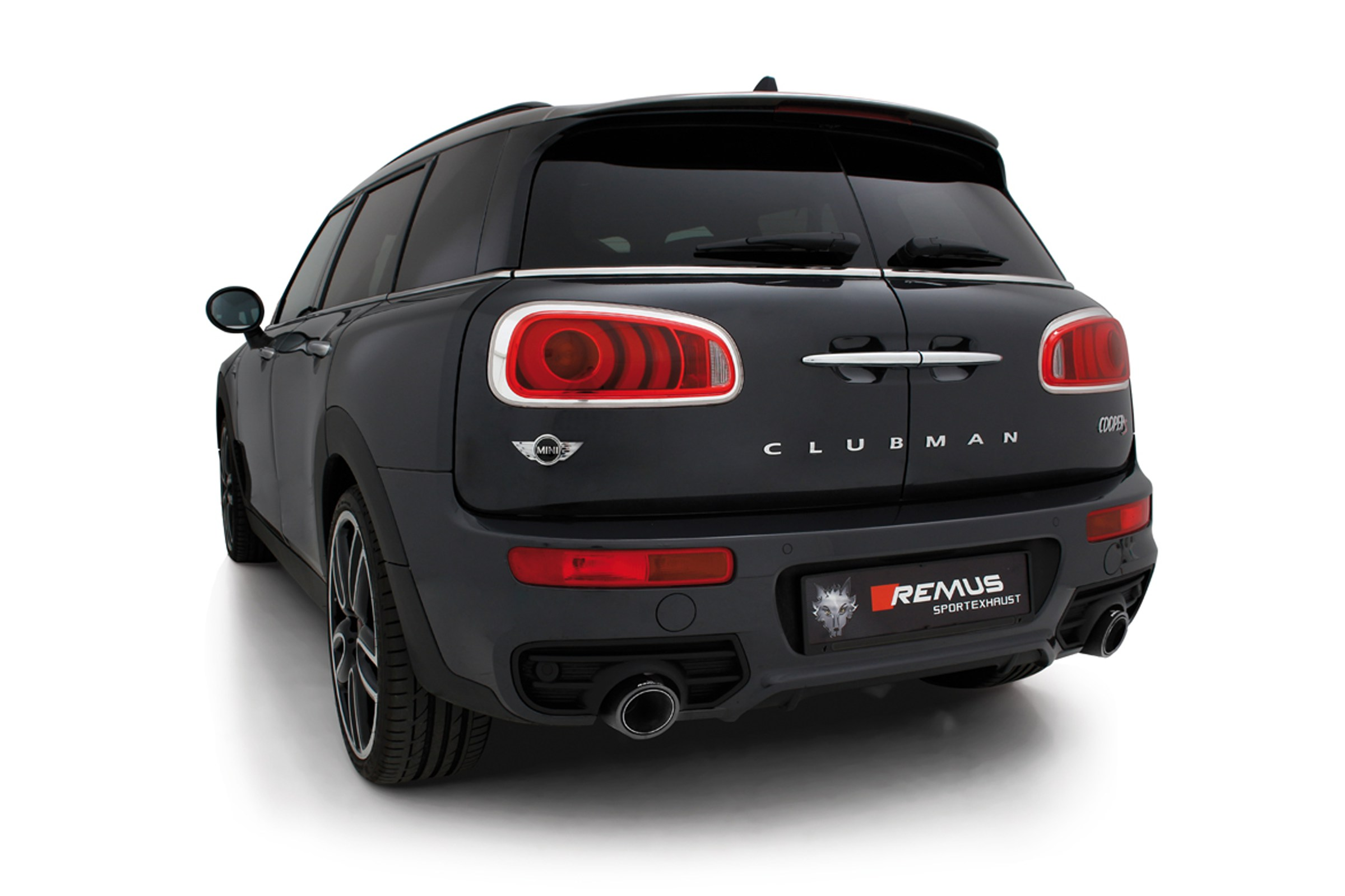 Mini Cooper Models >> Cooper S Exhausts : Remus Valve Tronic F54 MINI Clubman Cooper S Cat Back Exhaust System